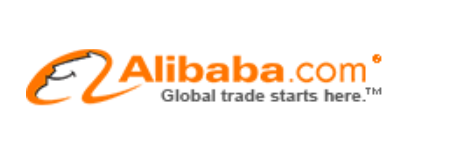 Identification The Orange Logo Of Alibaba And Its Slogan Global Trade Starts Here Really Stand Out On Left Top Corner Website Ali1